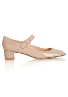 Valentino Mary-Jane leather pumps