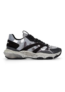 256cd3542c393 On Sale today! Valentino Men's Mirror Rafa Sock Lace-Up Sneakers