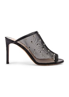 Valentino Mesh Open Toe Heels
