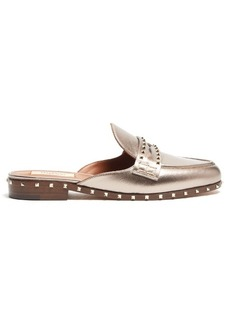 Valentino Micro Rockstud leather slides