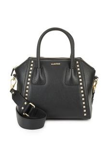 Valentino by Mario Valentino Minimi Studded Leather Satchel