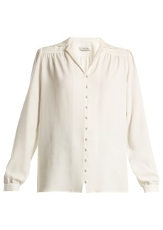Valentino Notch-lapel sable shirt