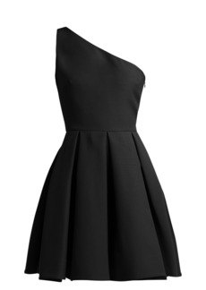 Valentino One-shoulder skater dress