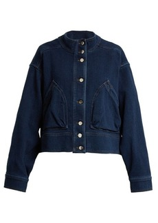 Valentino Oversized cotton-denim jacket
