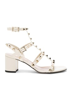 Valentino Patent Leather Rockstud Sandals