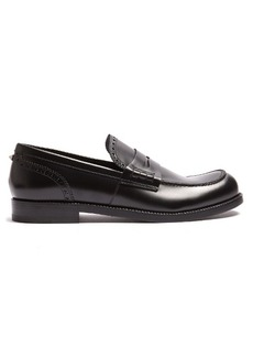 Valentino Penny leather loafers