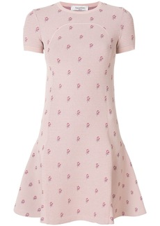 Valentino Petites Roses knit dress