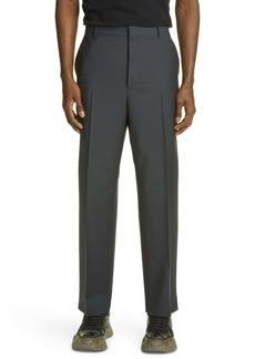 Valentino Pleated Wool Blend Dress Pants