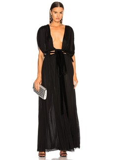 Valentino Plunging Gown