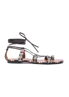 Valentino Primitive Print Sandals