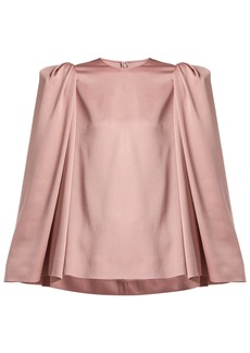 Valentino Puff-shoulder cady top