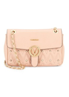 Valentino by Mario Valentino Quilted Leather Shoulder Bag