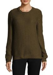 Valentino Ribbed Silk Sweater