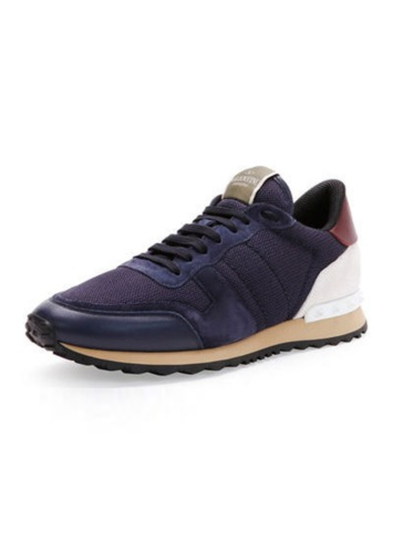 37aec3229245 Valentino Valentino Garavani Rockrunner Mesh Sneaker