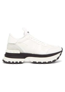 Valentino Rockrunner.Up leather trainers