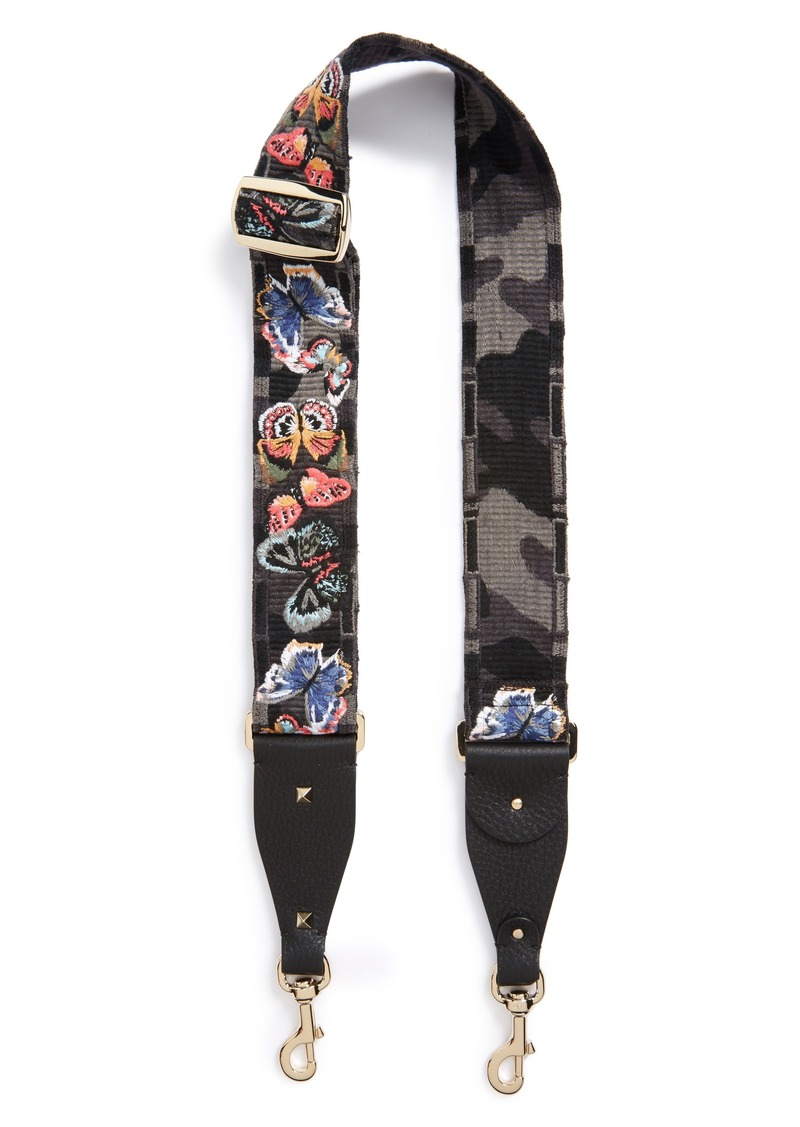 5f7002549b Valentino Butterfly Guitar Strap - Best Image Of Butterfly Imagevet.Co