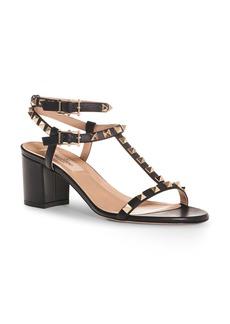 Valentino Rockstud Ankle Strap Sandal (Women)