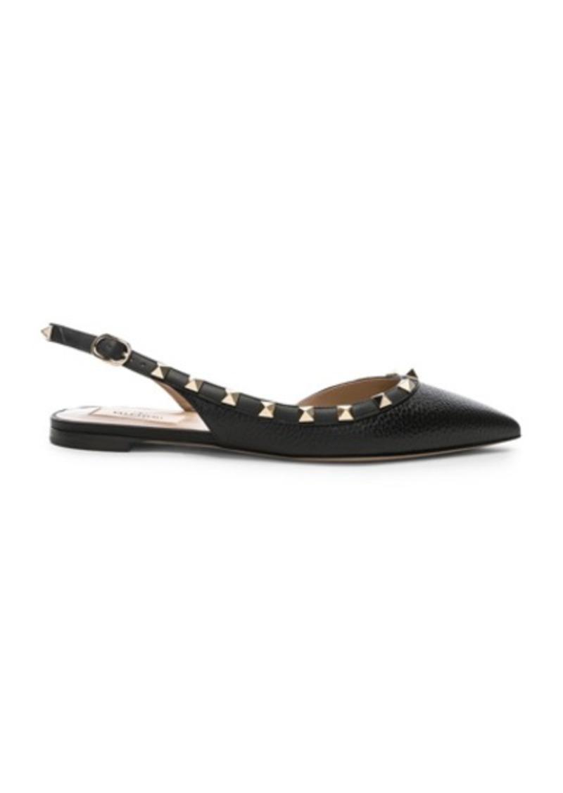 3d3a3c8d0 Valentino Valentino Rockstud Ballerina Flats | Shoes