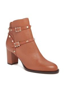 Valentino 'Rockstud' Block Heel Bootie (Women)