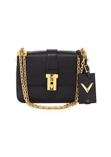 Valentino Rockstud Chain Leather Shoulder Bag