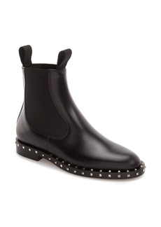 Valentino Rockstud Chelsea Boot (Women)