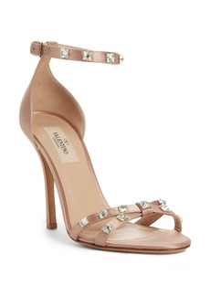 VALENTINO GARAVANI Rockstud Glam Ankle Strap Sandal (Women)