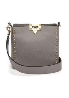 6ba25136b69 Valentino Valentino Garavani Panther Suede Chain Shoulder Bag