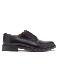 Valentino Rockstud leather derby shoes