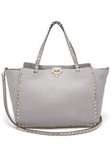 Valentino Rockstud leather medium tote bag