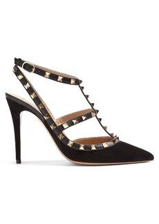 Valentino Rockstud leather pumps