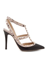 Valentino Rockstud Leather Slingbacks T.100