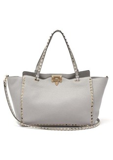 Valentino Rockstud medium leather tote bag