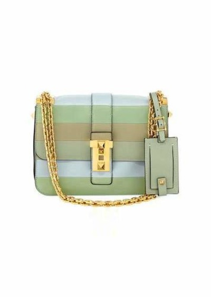 bb798a52d On Sale today! Valentino Valentino Garavani Rockstud Medium Striped ...