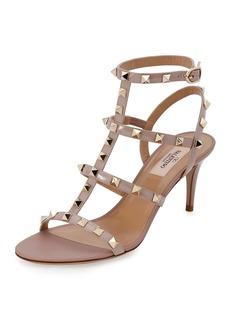 Valentino Garavani Rockstud Patent 70mm Sandal