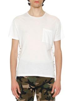 Valentino Rockstud Pocket T-Shirt