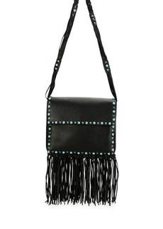 Valentino Rockstud Rolling Fringe Shoulder Bag