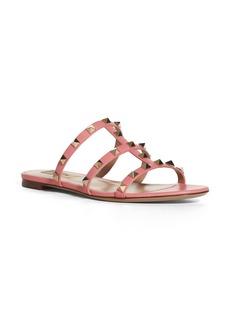 Valentino Rockstud Slide Sandal (Women)