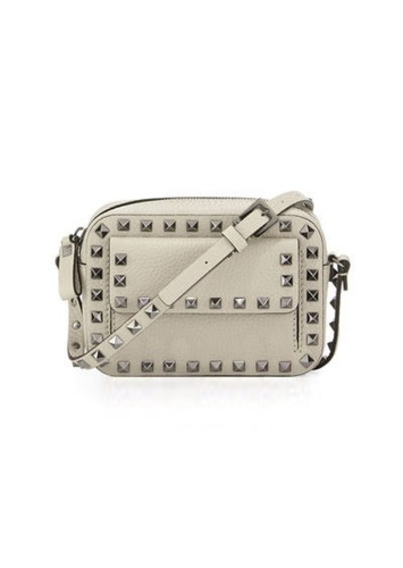 749e9991fe3 Valentino Garavani Rockstud Small Flap Pocket Camera Crossbody Bag