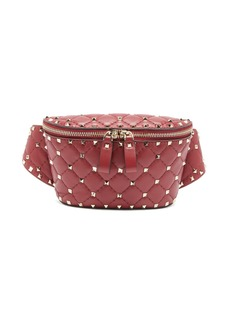 Valentino Rockstud Spike quilted-leather belt bag