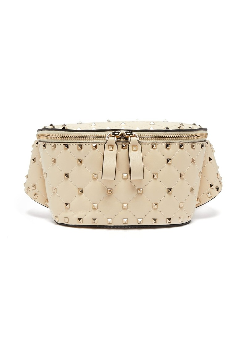 701204f051 Valentino Valentino Rockstud Spike quilted-leather belt bag | Handbags