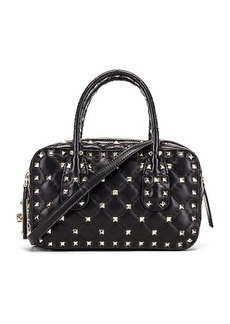 Valentino Rockstud Spike Small Duffle Bag