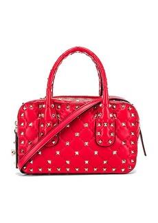 Valentino Rockstud Spike Small Duffle Bag