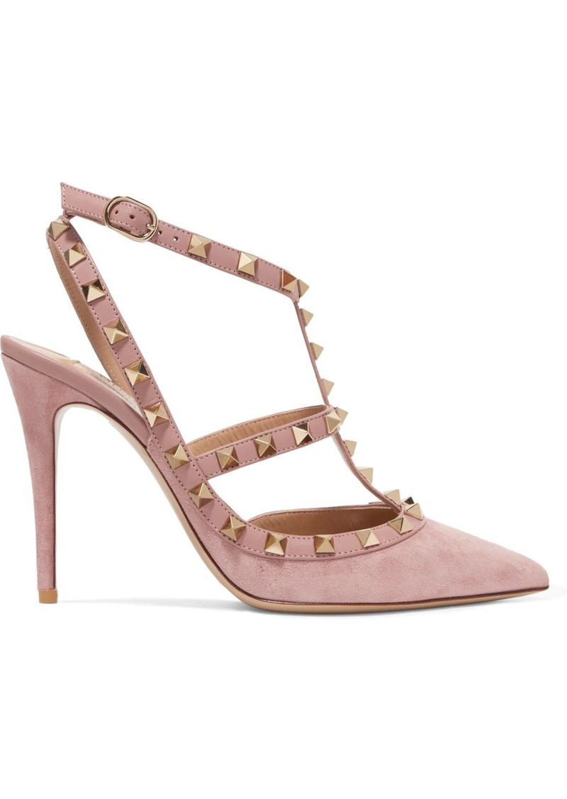 683eb28ec110c Valentino Valentino Garavani The Rockstud suede pumps | Shoes