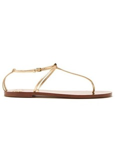Valentino Rockstud T-bar leather sandals