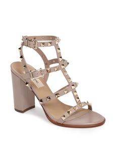 Valentino 'Rockstud' T-Strap Sandal (Women)