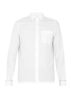 Valentino Rockstud Untiled #5 single-cuff cotton shirt
