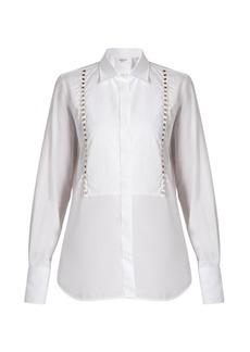 Valentino Rockstud Untitled #5 bib-front shirt