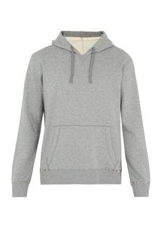 Valentino Rockstud Untitled #8 cotton-blend sweatshirt
