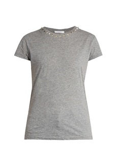 Valentino Rockstud Untitled #9 cotton-jersey T-shirt