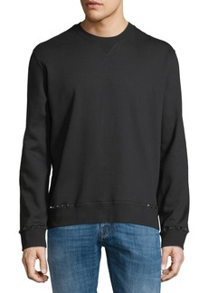 Valentino Rockstud Untitled Fleece Sweatshirt